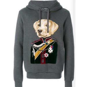 DOLCE & GABBANA | Embroidered Velvet Dog Jacket
